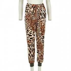 Trousers / Harem pants style in animal print ''alexandRA-IN winter''