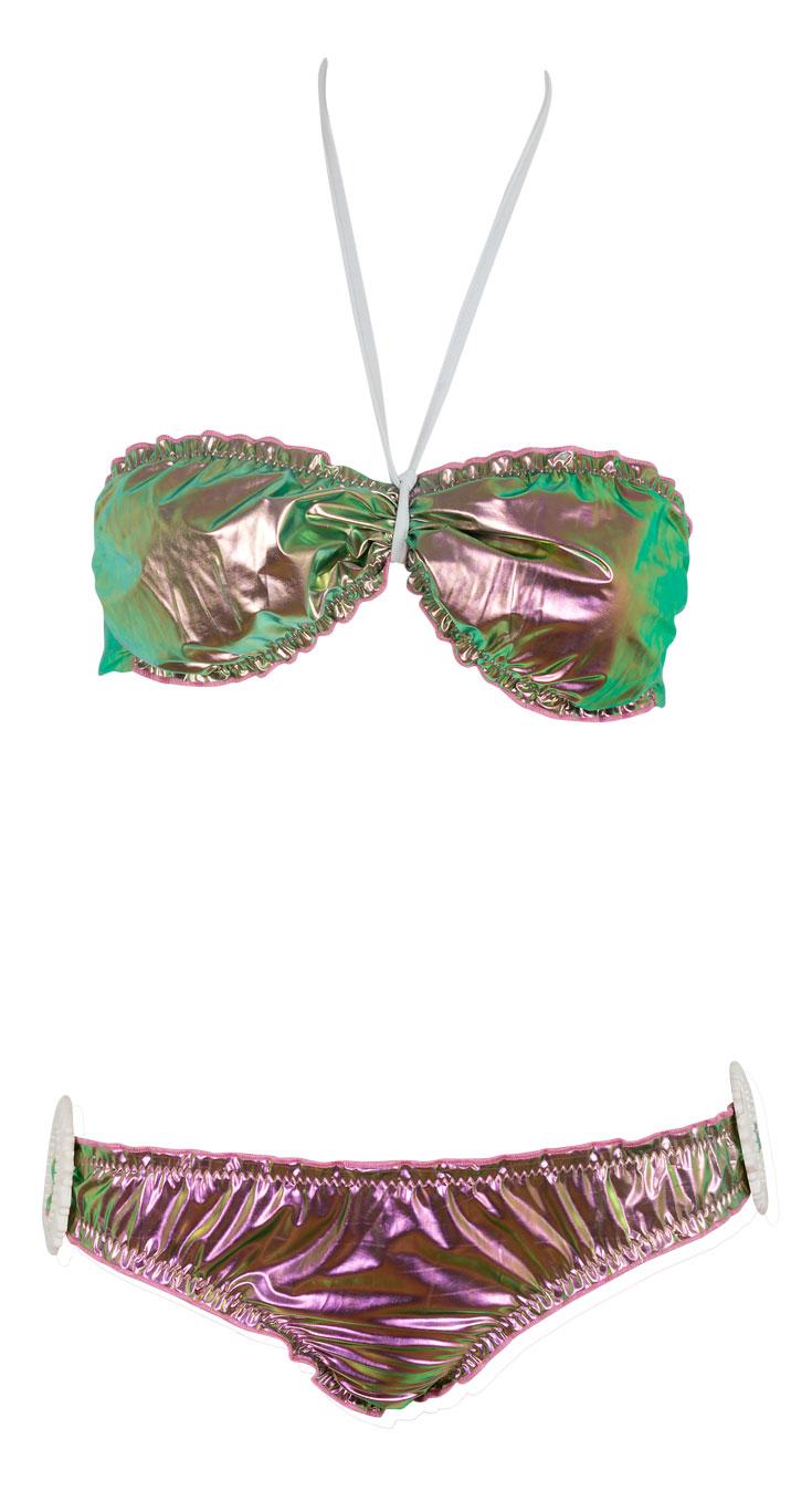 """ΜΑΓΙΩ ΜΠΙΚΙΝΙ ΣΤΡΑΠΛΕΣ ΜΕΤΑΛΛΙΖΕ ΜΕ ΛΕΥΚΕΣ ΕΓΚΡΑΦΕΣ """"alexSANDra on the beac beachwear   μαγιω"""